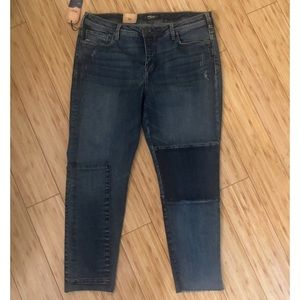 NWT Silver Jeans Ankle slim high rise